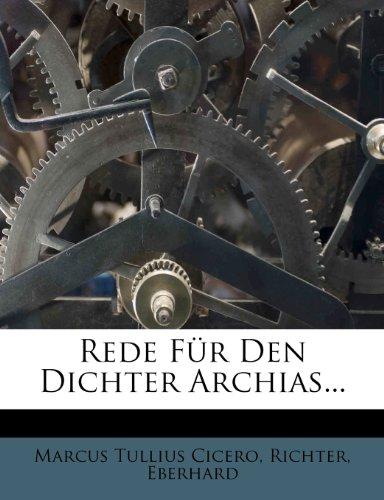 9781278008882: Ciceros Rede Fur Den Dichter Archias.