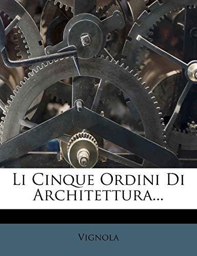 Li Cinque Ordini Di Architettura