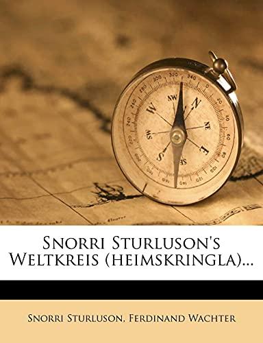 9781278467344: Snorri Sturluson's Weltkreis (Heimskringla).