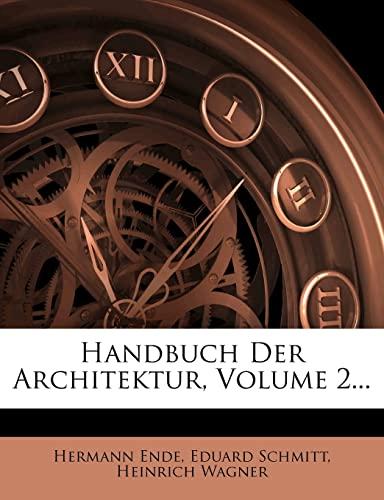 9781279080870: Handbuch Der Architektur.