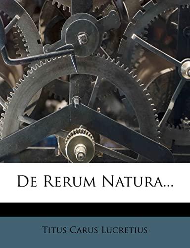 9781279159408: De Rerum Natura...