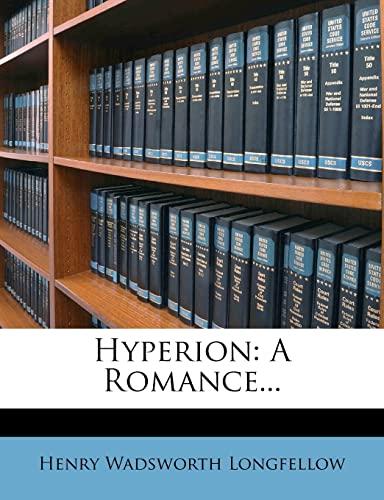 9781279608654: Hyperion: A Romance...