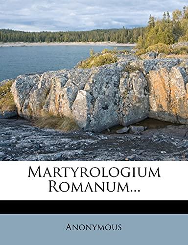 9781279991275: Martyrologium Romanum...