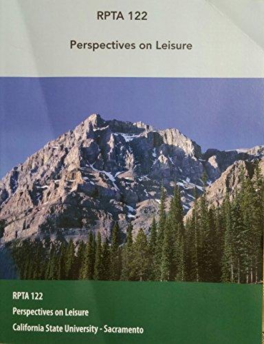 9781284000214: Perspectives on Leisure (RPTA 122)