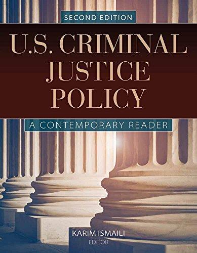 9781284020250: U.S. Criminal Justice Policy: A Contemporary Reader