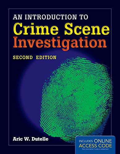 9781284020656: An Introduction to Crime Scene Investigation