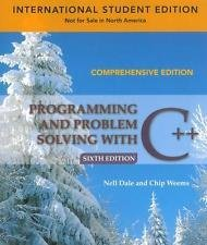 Programming And Problem Solving With C++: Comprehensive: June R. Payne-Palacio