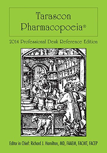 9781284026719: Tarascon Pharmacopoeia 2014 Professional Desk Reference Edition (Tarascon Pocket Pharmacopoeia)