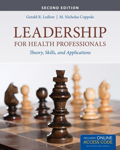 9781284026887: Leadership For Health Professionals