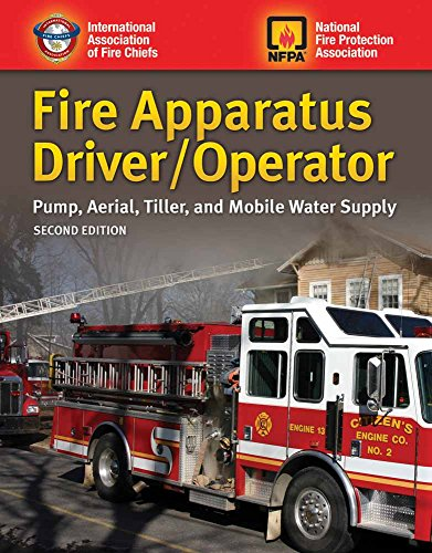 9781284026917: Fire Apparatus Driver/Operator: Pump, Aerial, Tiller, and Mobile Water Supply