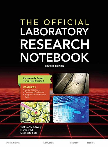 9781284029581: The Official Laboratory Research Notebook (100 duplicate sets)