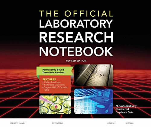 9781284029628: The Official Laboratory Research Notebook (75 duplicate sets)