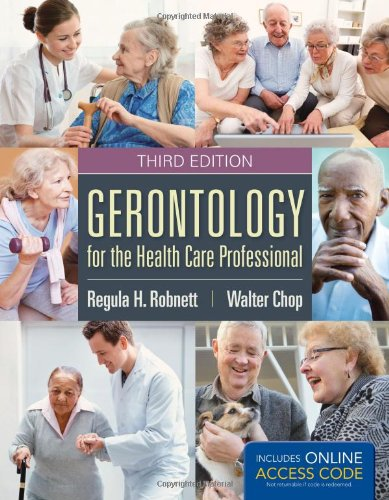 9781284030525: Gerontology for Health Care Professional (w/ Online Access)