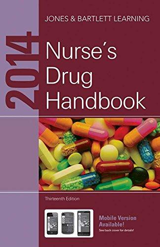 2014 Nurse's Drug Handbook: Jones & Bartlett Learning