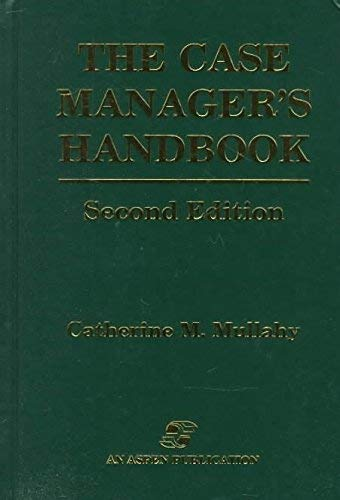 9781284032079: the Case Manager's Handbook