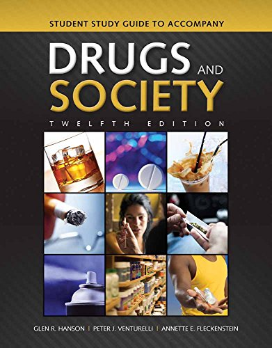 9781284035483: Student Study Guide To Accompany Drugs And Society