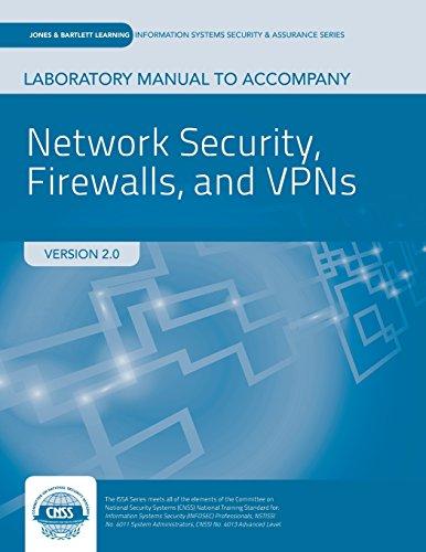 9781284036220: Network Security Firewalls & VPNs Lab Manual