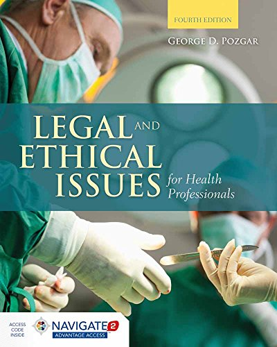 9781284036794: Legal And Ethical Issues For Health Professionals