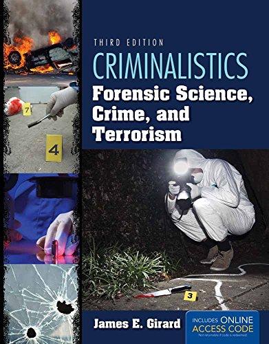 9781284037036: Criminalistics: Forensic Science, Crime, And Terrorism