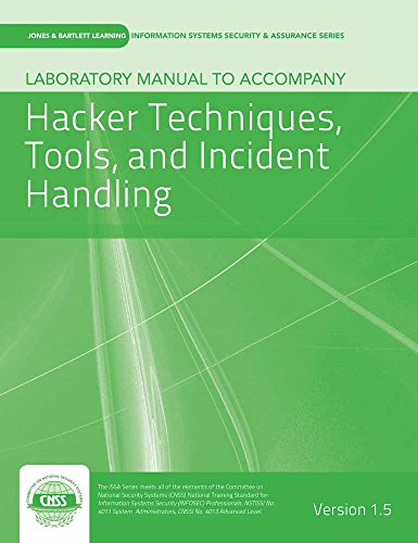 9781284037548: Laboratory Manual Version 1.5 To Accompany Hacker Techniques, Tools, And Incident Handling