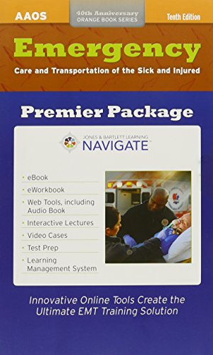 9781284037852: Emergency Care And Transportation Of The Sick And Injured Premier Package Digital Supplement (Orange Book)