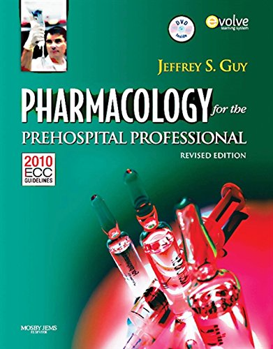 9781284038064: Pharmacology for the Prehospital Professional: Revised Edition