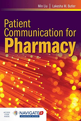 9781284038880: Patient Communication For Pharmacy: A Case-Study Approach on Theory and Practice