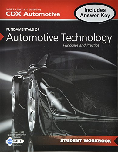 9781284040869: Fundamentals Of Automotive Technology Student Workbook