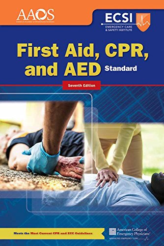 9781284041613: Standard First Aid, CPR, and AED