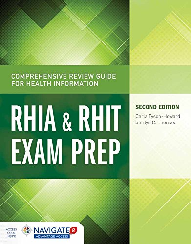 9781284045321: Comprehensive Review Guide for Health Information: RHIA & RHIT Exam Prep (Tyson-Howard, Comprehensive Review Guide for Health Informat)