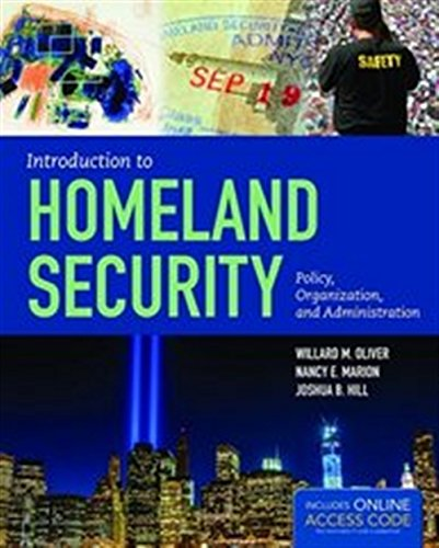 9781284045833: Introduction to Homeland Security: Policy, Organization, and Administration
