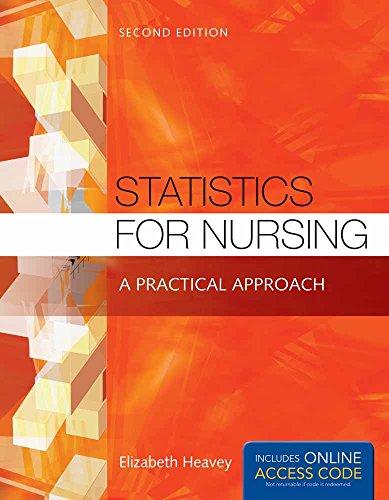 9781284048346: Statistics For Nursing: A Practical Approach