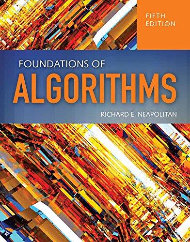 9781284049190: Foundations Of Algorithms
