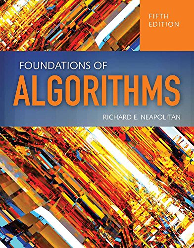 Foundations Of Algorithms: Neapolitan, Richard