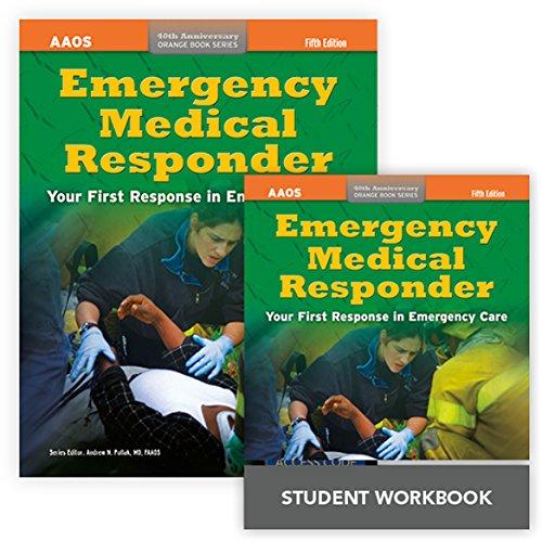 9781284050035: Emergency Medical Responder + Emergency Medical Responder Student Workbook (40th Anniversary Orange Book Series)