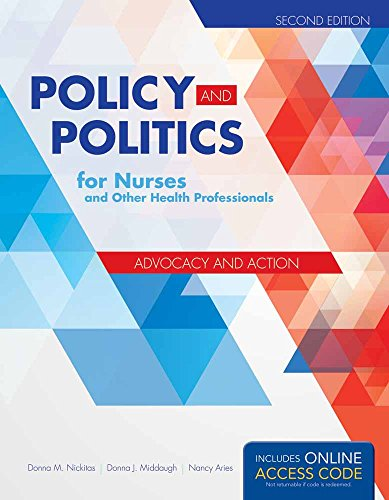 9781284053296: Policy and Politics for Nurses and Other Health Professionals