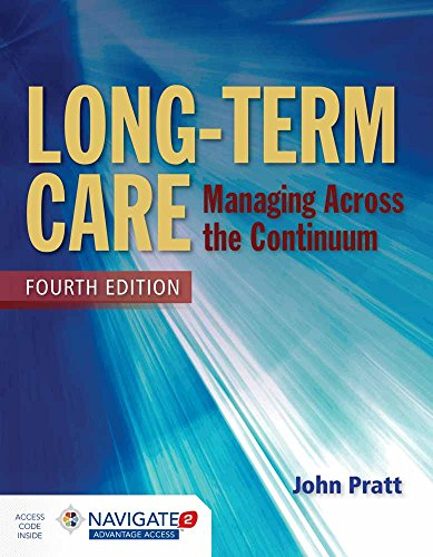 9781284054590 Long Term Care Managing Across The Continuum