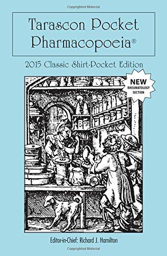 9781284058666: Tarascon Pocket Pharmacopoeia 2015 Classic Shirt Pocket Edition