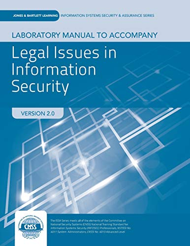 9781284058703: Lab Manual to accompany Legal Issues in Information Security (Jones & Bartlett Information Systems Security & Assurance)