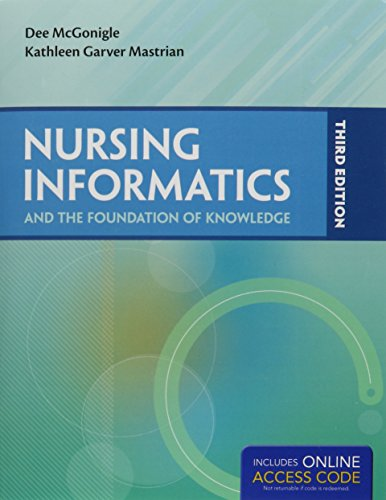 9781284063974: Nursing Informatics And The Foundation Of Knowledge