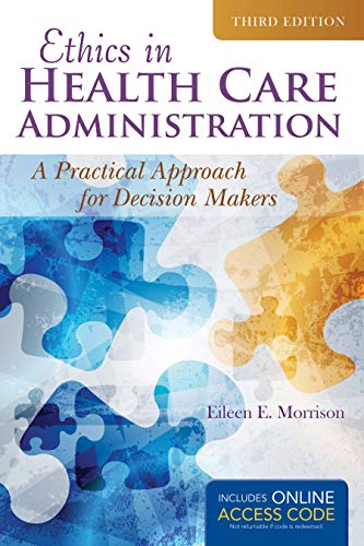 9781284070651: Ethics In Health Administration