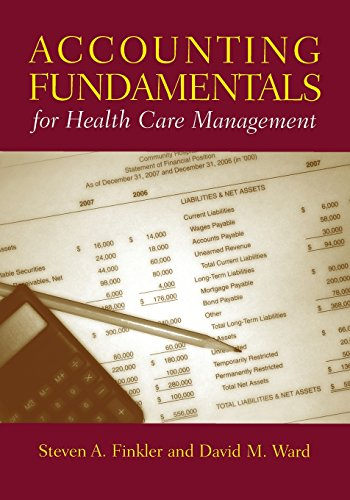 9781284071719: Accounting Fundamentals for Health Care Management