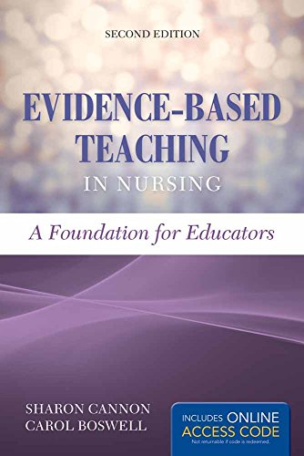 9781284074734: Evidence-Based Teaching In Nursing: A Foundation for Educators