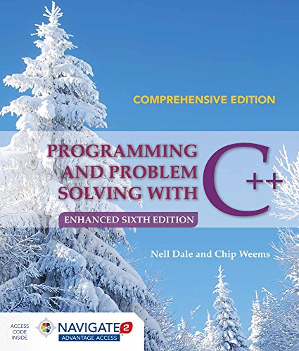 9781284076592: Programming and Problem Solving with C++: Comprehensive
