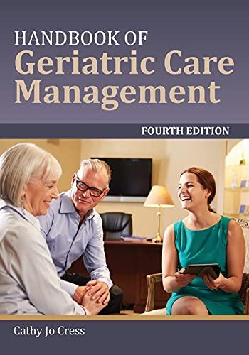9781284078985: Handbook of Geriatric Care Management