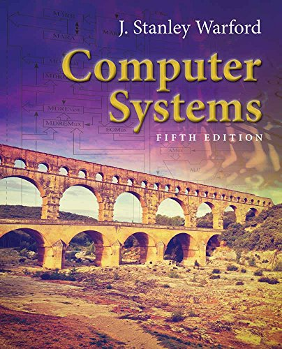 Computer Systems 9781284079630 Computer Systems, Fifth Edition provides a clear, detailed, step-by-step introduction to the central concepts in computer organization, assembly language, and computer architecture. It urges students to explore the many dimensions of computer systems through a top-down approach to levels of abstraction. By examining how the different levels of abstraction relate to one another, the text helps students look at computer systems and their components as a unified concept. New & Key Features: - New high-order language -- The high-order language is changed from C++ to C. The C language is more common as a systems programming language and is more appropriate for a computer systems text. - New sidebars -- Each sidebar is a real-world example of the concepts described in that chapter. As most of the chapters describe the Pep/9 virtual machine, the sidebars for those chapters show corresponding implementations for the Intel x86 architecture. - New and expanded topics -- New and expanded topics include, QR codes, color displays, Unicode, UTF-32 and UTF-8 encoding, floating point underflow, big-endian and little-endian order, memory alignment issues, and expanded RISC design principles and MIPS coverage to contrast with the Pep/9 CISC design. - New virtual machine -- Pep/8, the virtual machine for the two previous editions, is now superseded by the new and improved Pep/9. Pep/9 retains the same eight addressing modes of Pep/8 but now includes memory-mapped I/O, an improved return-from-subroutine instruction, a new native compare-byte instruction, improved instruction mnemonics, and a new hexadecimal output trap instruction. - New software -- The Pep/9 system in the text is supported by two updated open source software applications, the assembler/simulator and the CPU simulator.