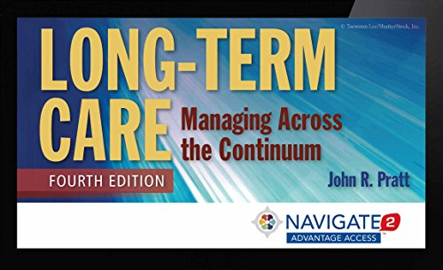 9781284086522 Long Term Care Managing Across The Continuum
