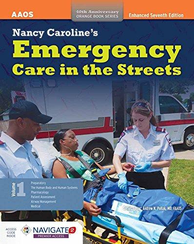 9781284087529: Nancy Caroline's Emergency Care in the Streets (Orange)