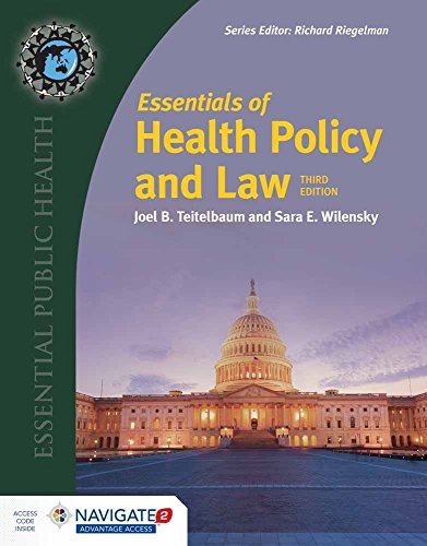 Essentials Of Health Policy And Law: Joel B. Teitelbaum