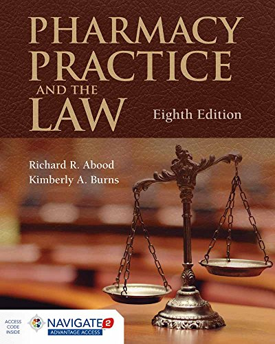 9781284089110: Pharmacy Practice and the Law